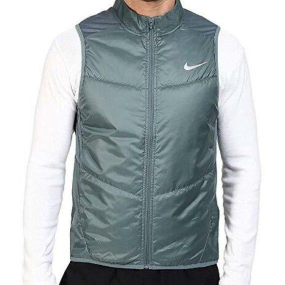 NEW Nike Polyfill Men Training Running Vest Size L